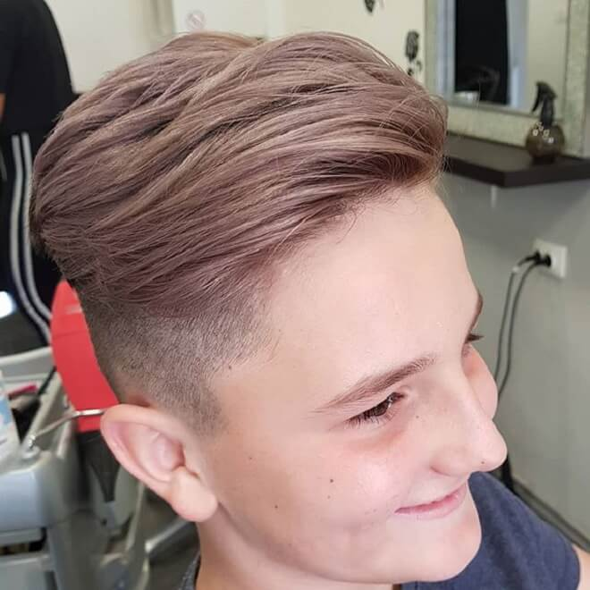 Long On Top with Undercut