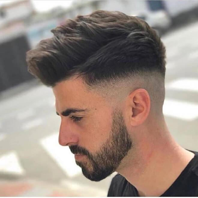 Low Bald Fade Cut