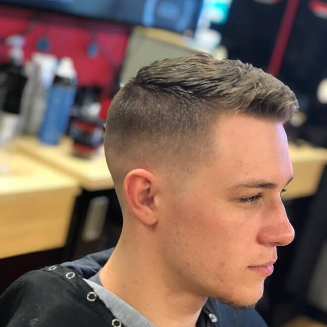 Low Fade with Short Haircuts
