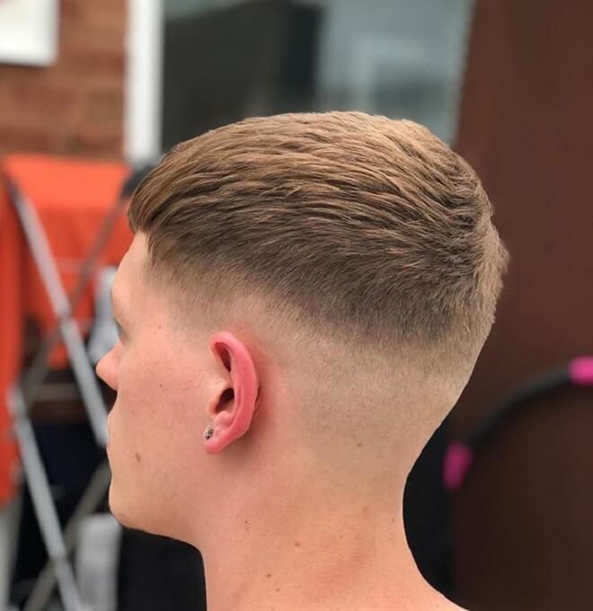 Low Razor Fade with Top Textured Hair