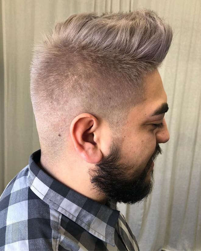 Men Silver Hair