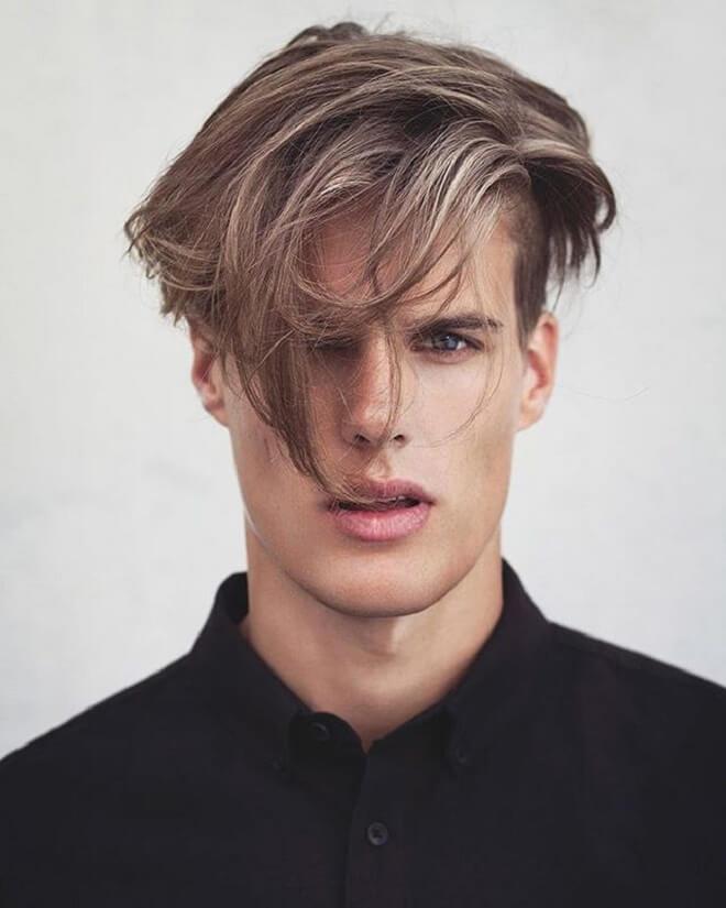 Messy Fringe Hairstyle