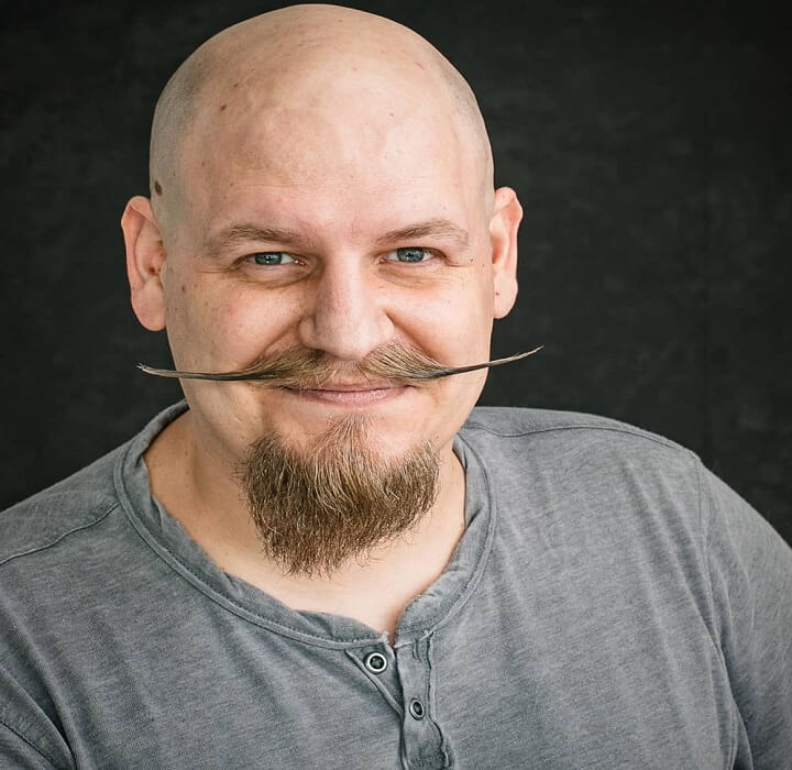 Mustache and Goatee