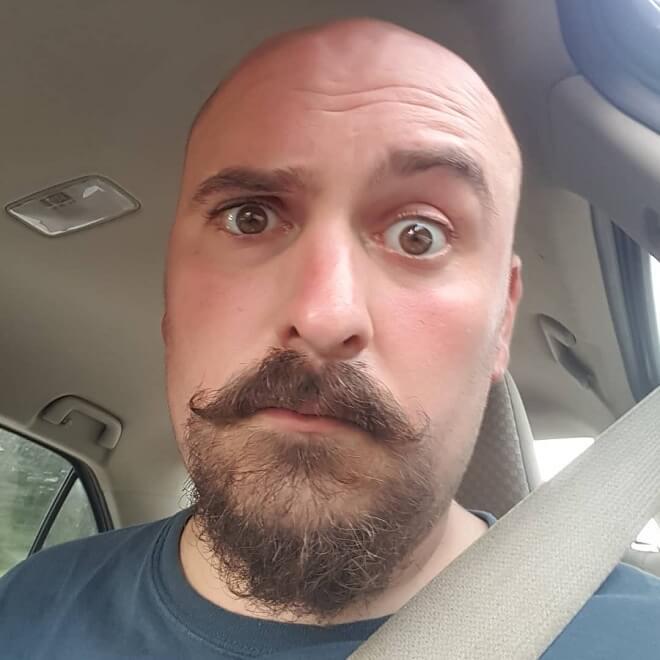 Mustache with Goatee Beard Style