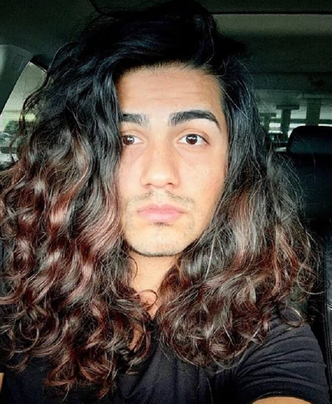 Top 21 Stylish Curly Long Hairstyles For Men Best