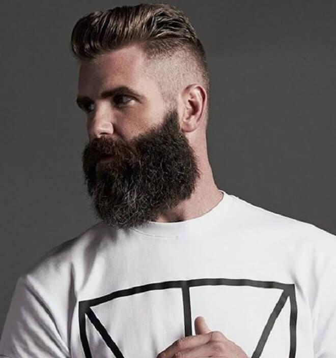 Polished and Gruffed Beard