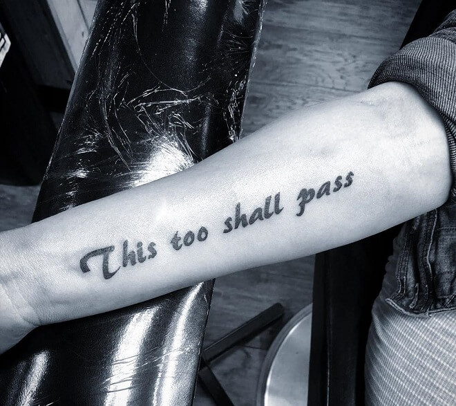 Quote Tattoo