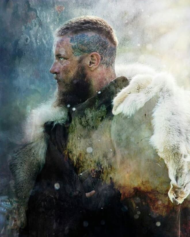 Ragnar Lothbrok Short Haircut