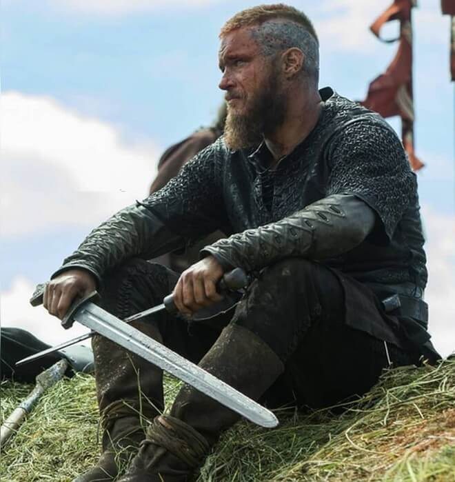 Ragnar Lothbrok Short Hairstyle