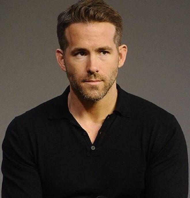 Ryan Reynolds Ivy League Haircut