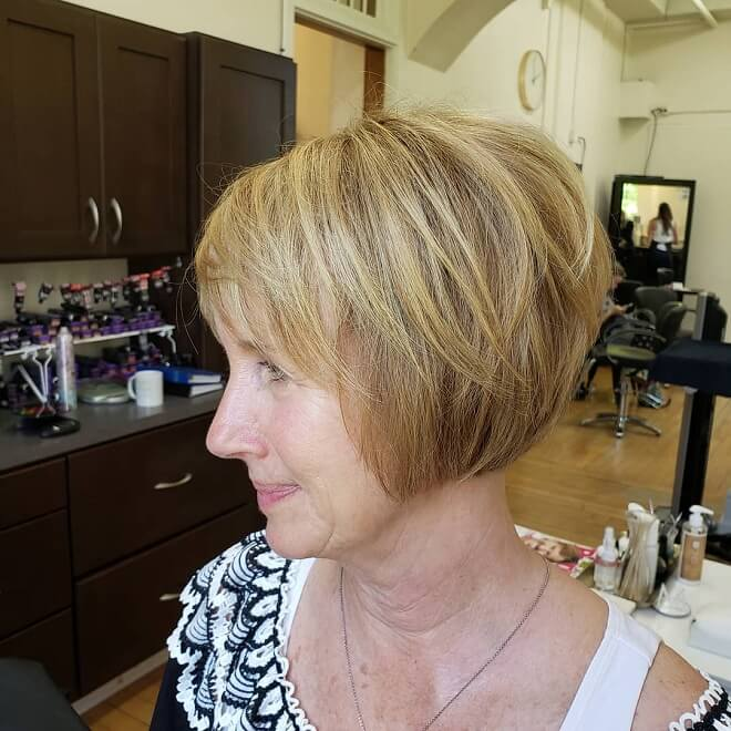 Short Cut With Soft Bangs