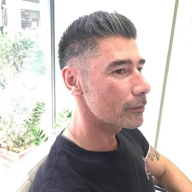Short Faux Hawk Haircut