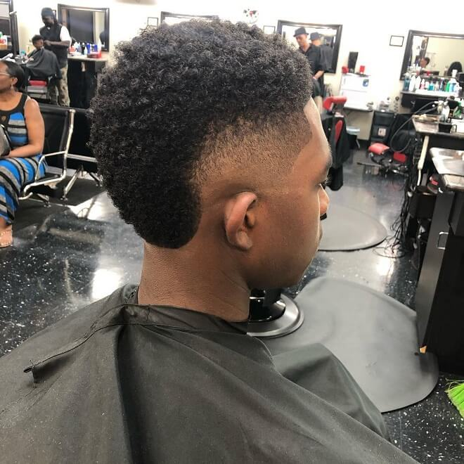 Short Mohawk Haircut