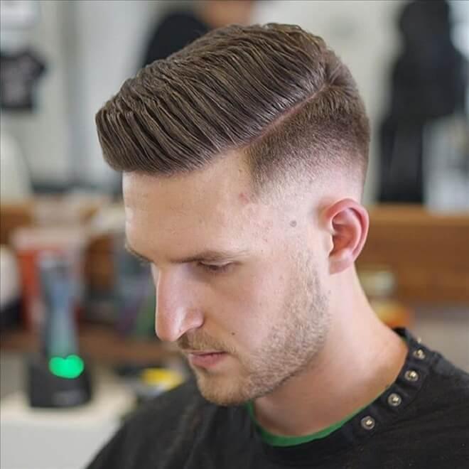 Short Pomade Haircut