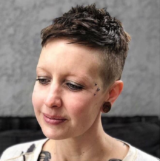 Short Sides with Textured On Top