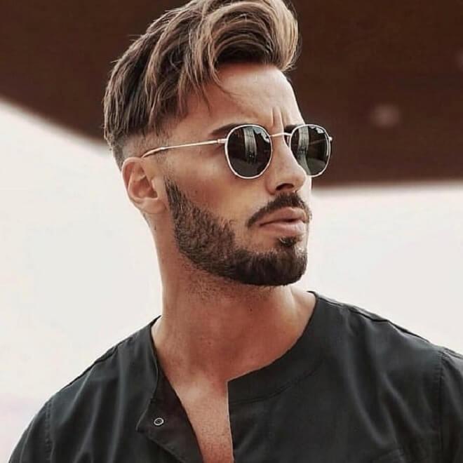 Short Stubble Beard Style