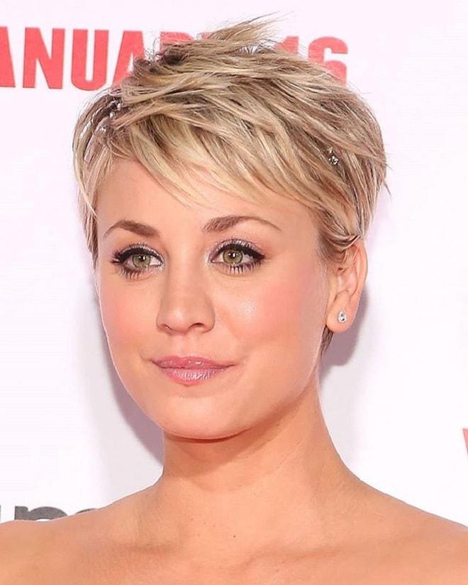 Short Textured Blonde Hair