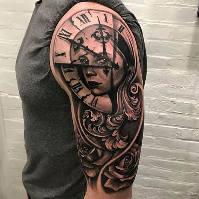 Shoulder Tattoo