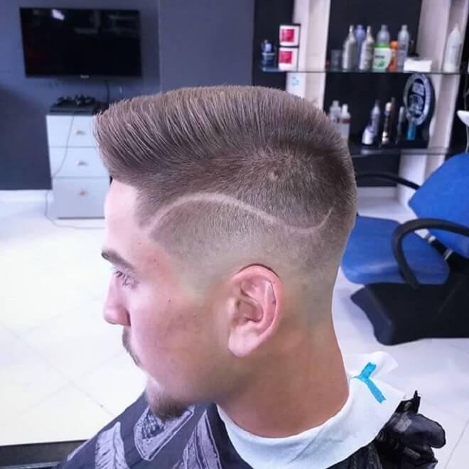 Straight Spiky Hair
