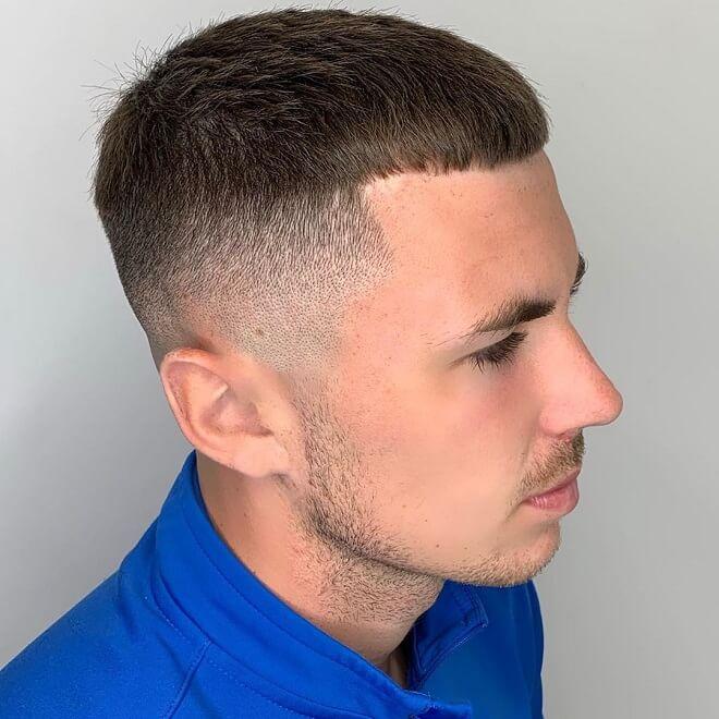 Textured Crop Cut with Thin Hair