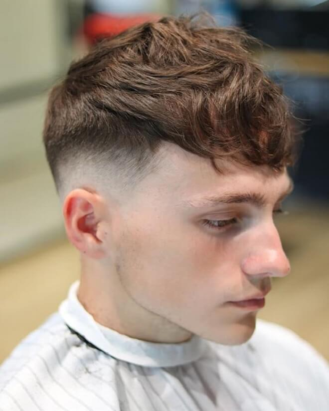 Textured Fringe with Low Fade