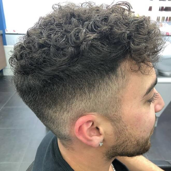 Textured Messy with Low Fade