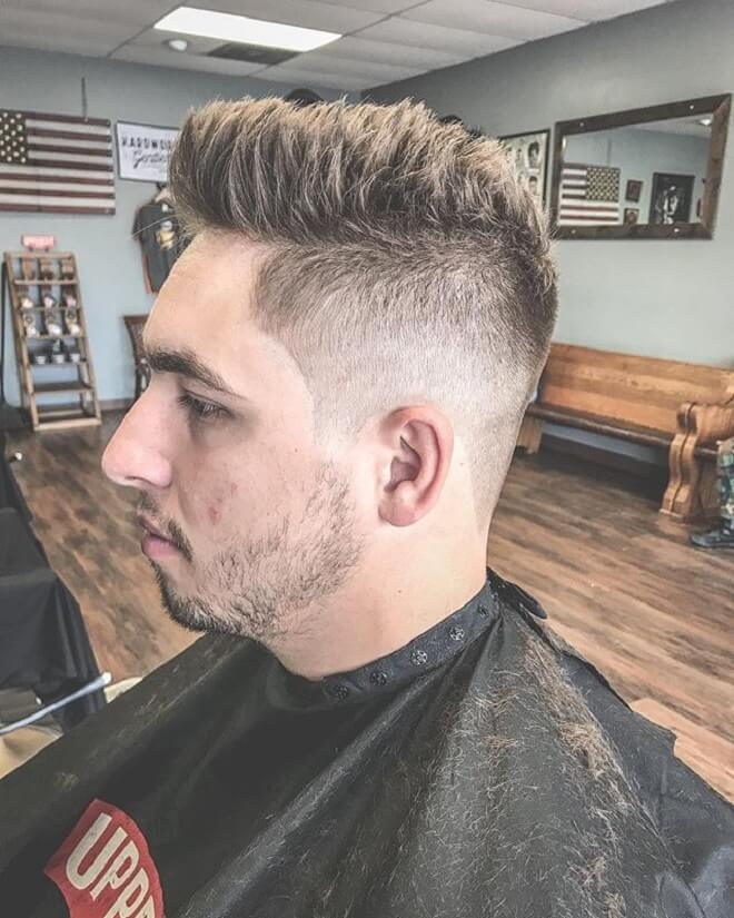 Textured Spiky Hairstyle with Thick Hair