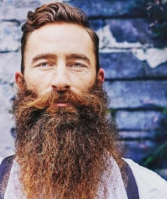 Thick Beard Style