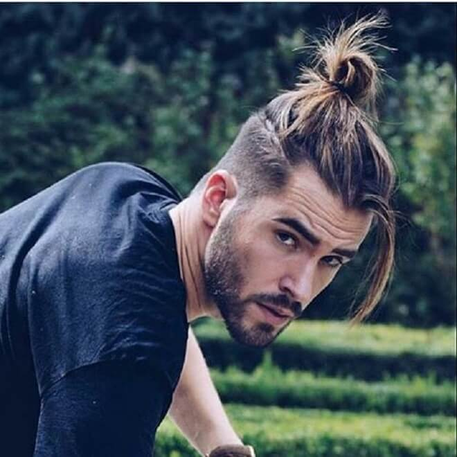 Top Knot with Fringe