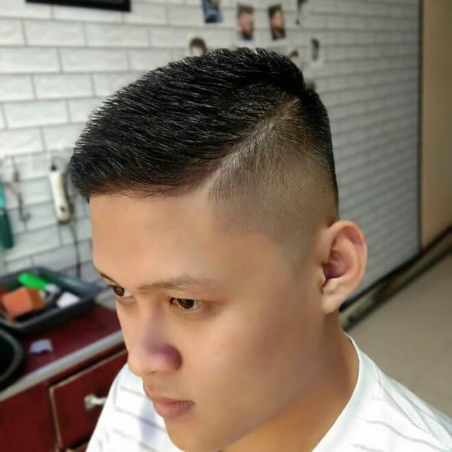 Undercut Fade with Short Hair