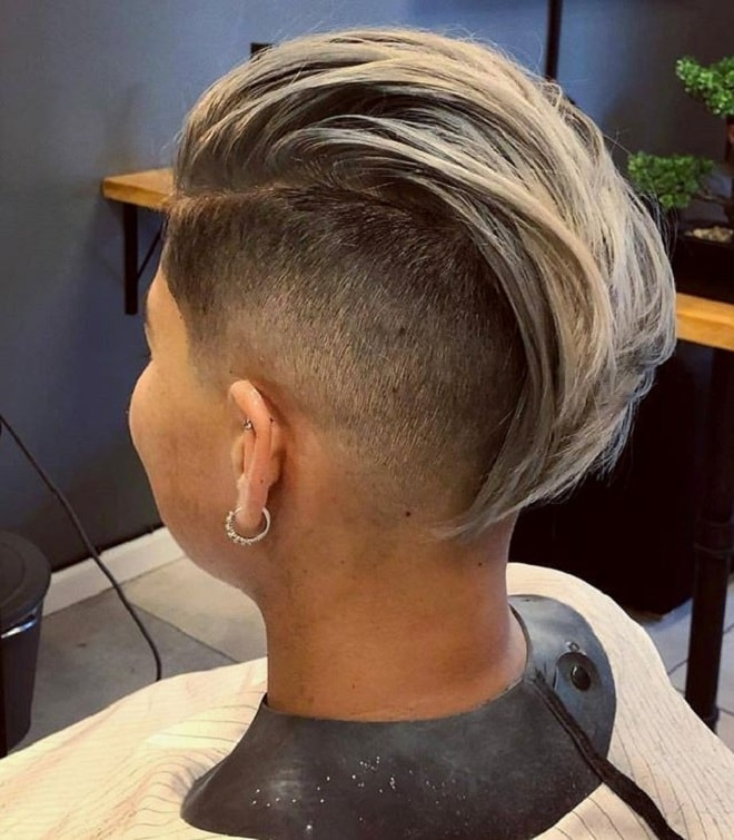 Undercut with Long Slicked Back