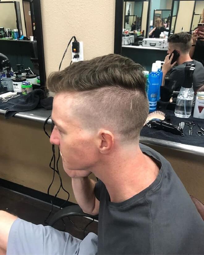 Undercut with Short Hair On Top