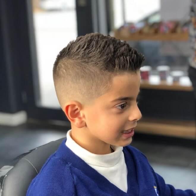 Short Fade Haircut Kids 85