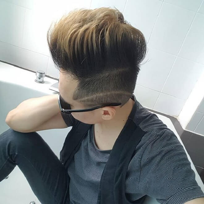 Undercut with Very High Top